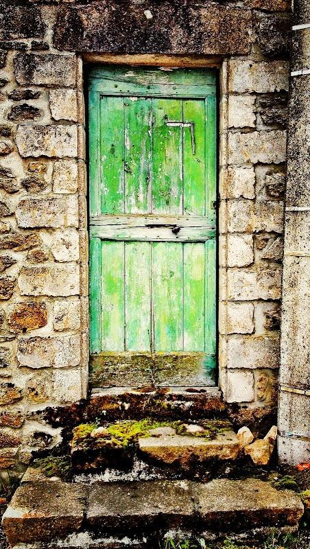 La porte verte de Langogne.  © Copyright Yves Philippe
