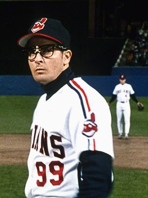 "The 25 Greatest Fictional Baseball Players of All Time. Charlie Sheen is Rick ""Wild Thing"" Vaughn in the movie Major League."