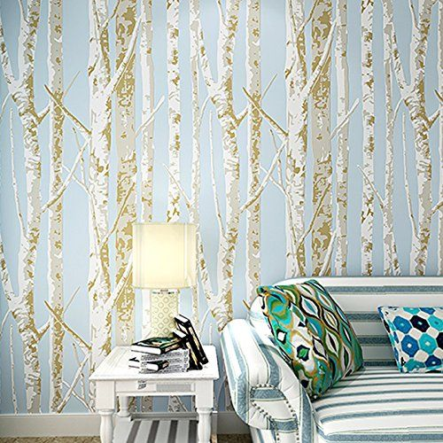 1000 ideas about birch tree wallpaper on pinterest tree for Birch tree wallpaper mural