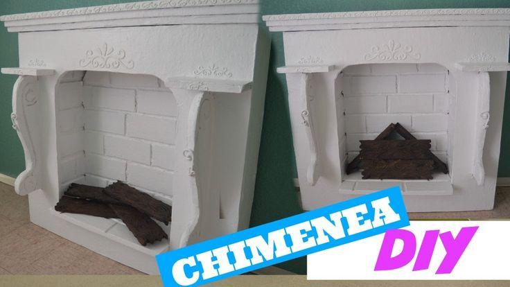 Como hacer una chimenea falsa curiosidades de gina - Hacer chimenea decorativa ...