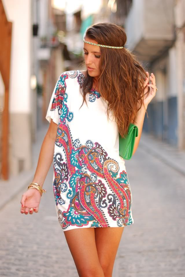 paisley: Girls, Boho Chic, Fashion, Hair Colors, Style, Hair Pieces, Cute Summer Dresses, The Dresses, Belts