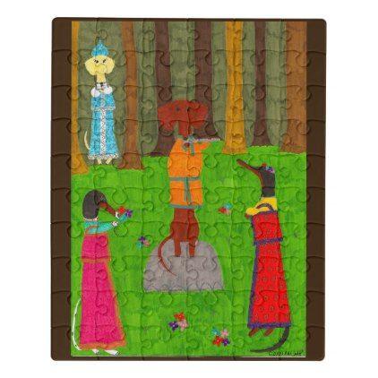 #Snegurochka Jigsaw Puzzle - #cute #gifts #cool #giftideas #custom