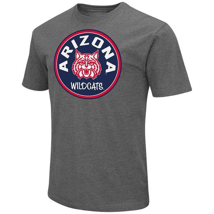 Men's Campus Heritage Arizona Wildcats Emblem Tee, Size: Medium, Blue (Navy)