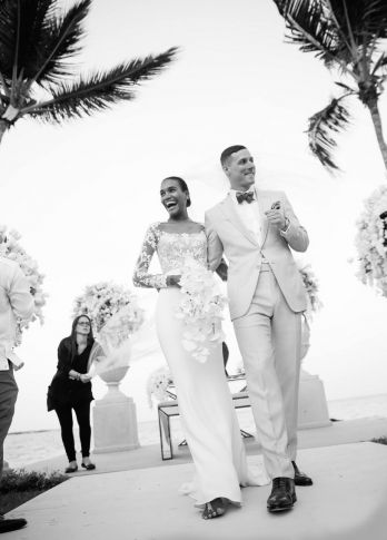 Casamento Celebridades   Arlenis Sosa + Donnie McGrath