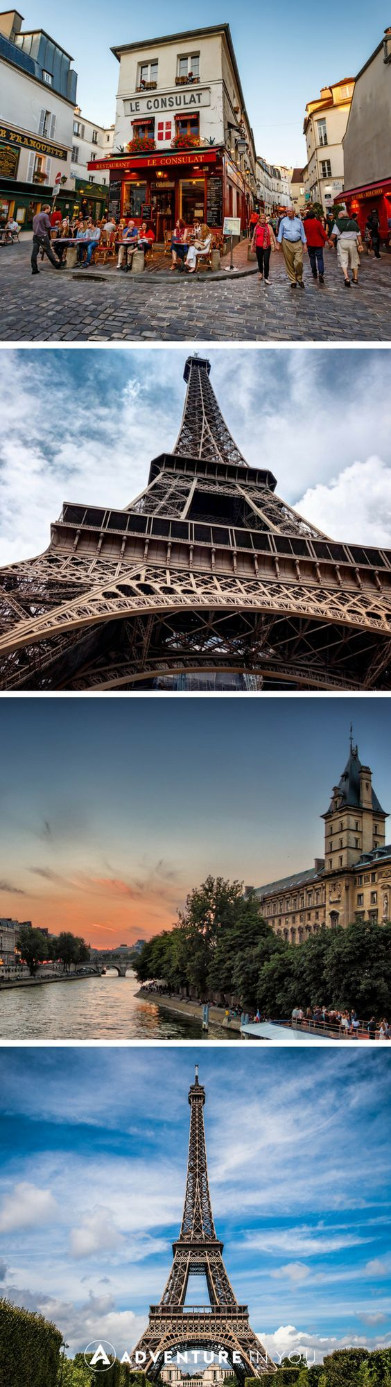 Paris, France | Fall in love with Paris through this stunning photo walk giving you glimpse of a day walking around the streets of this charming city.