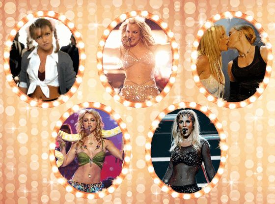 A Look at Britney Spears' Most Iconic Pop Culture Moments  Britney Spears, Birthday, GIF