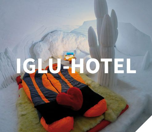 Iglu-Dorf Home - Hotel Bar Restaurant Events - das Original