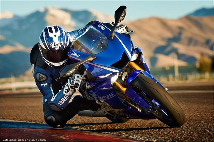2017 Yamaha YZF-R6 Supersport Motorcycle - Model Home