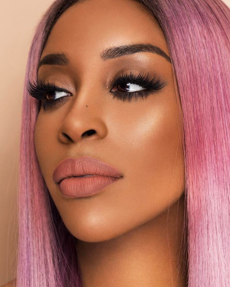 """24.3k Likes, 572 Comments - Jackie Aina (@jackieaina) on Instagram: """"when he says send nudes wearing Maybelline Raw Chocolate lipstick   #mnypartner #intimattenudes """""""