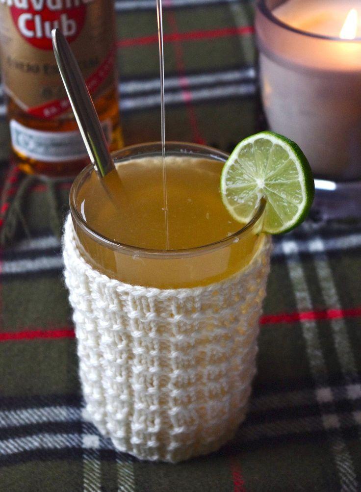 Grog rhum miel citron
