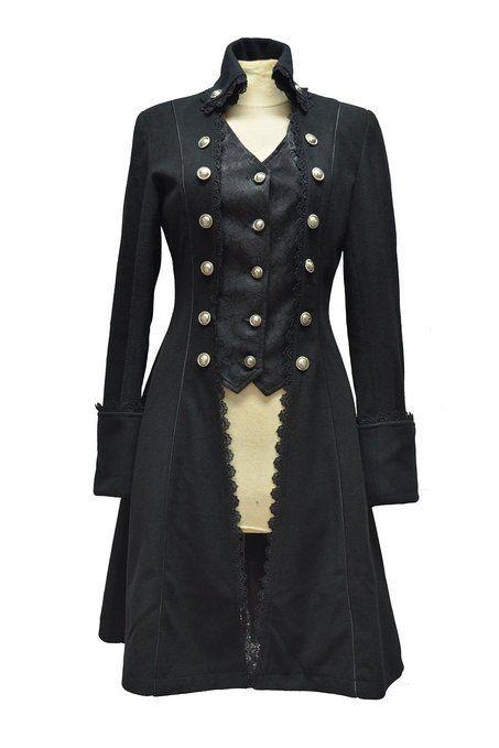 Accessoirement : Je le veux. Taille XXL, histoire d'être sûr. Manteau Femme Gothique Aristocrate Victorien Pentagramme: Amazon.fr: Vêtements et accessoires