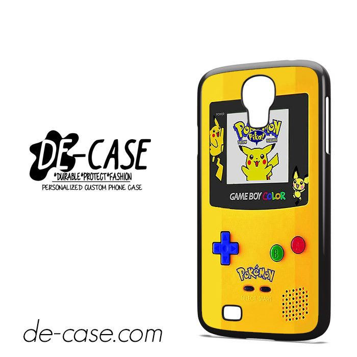 Gameboy Color Pokemon Edition DEAL-4597 Samsung Phonecase Cover For Samsung Galaxy S4 / S4 Mini