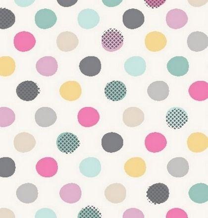 Mini dots on white - anthology fabrics