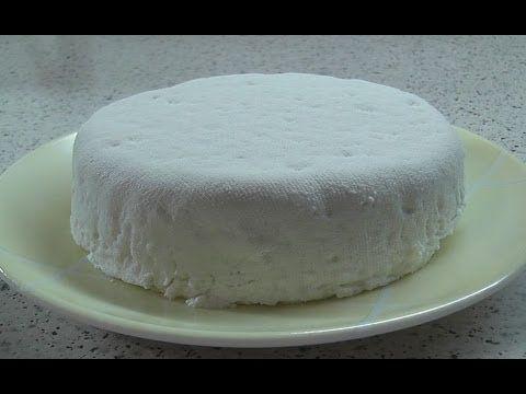 Адыгейский сыр из покупного молока