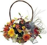 Cesta de flores variadas a tu disposicion en www.graficflower.com
