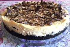 The Suburban Single Mom: Kit Kat Cheesecake Recipe