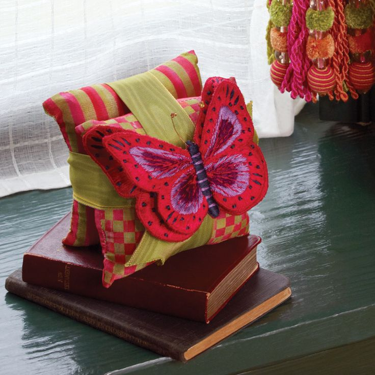 Butterfly Sachets! A small wonder and such a great gift.