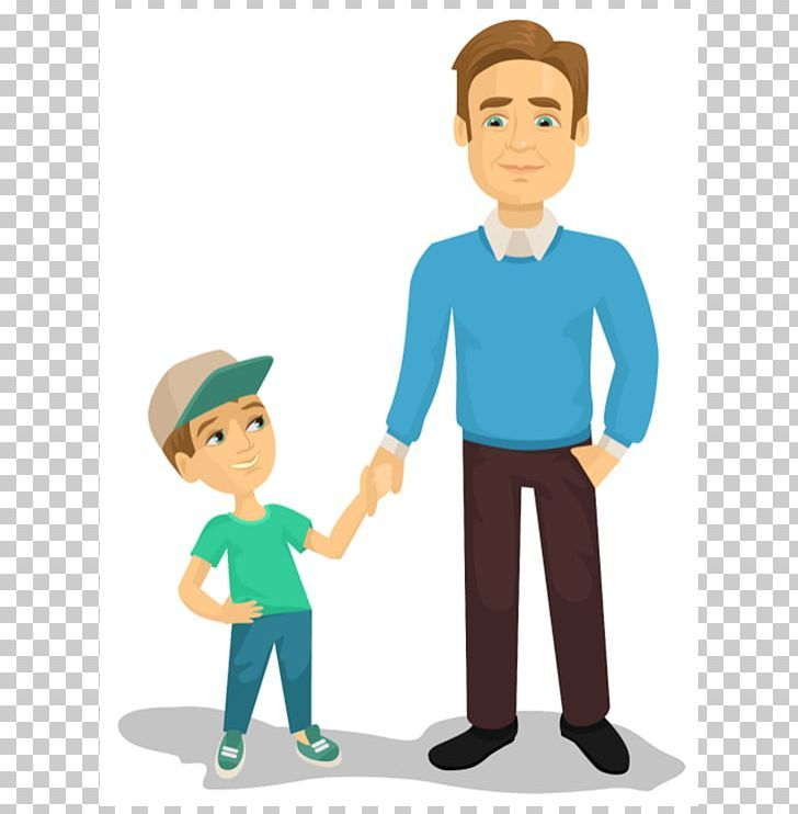 Father Drawing Son Png Boy Cartoon Child Communication Conversation Drawings Father Png