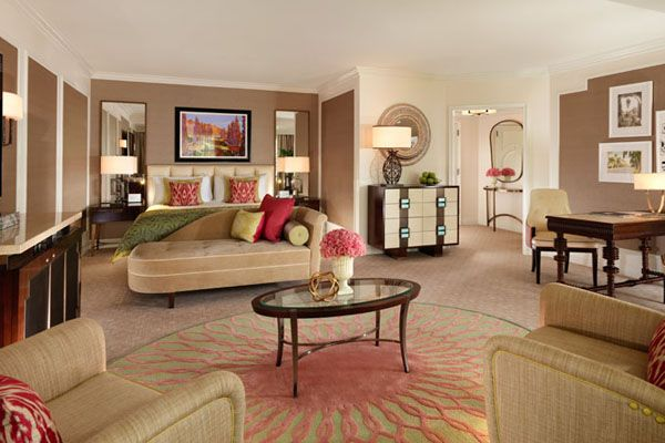 Premier Guestroom at The Beverly Hills Hotel