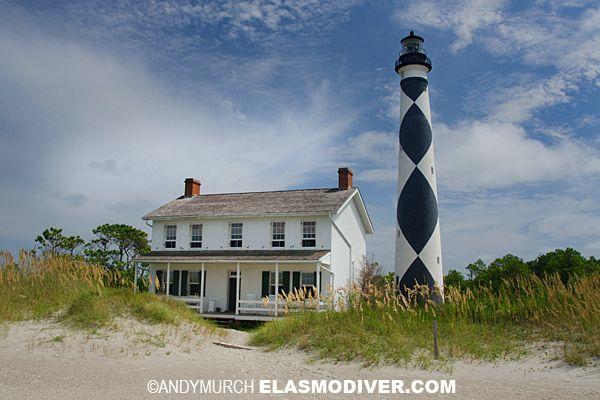 Cape Lookout Light Station, North Carolina.