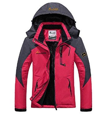 Ausom Fashion Outdoor Unisex Couple Warm Windproof Cotton Plus-size Ski Mountaineering Jacket Review