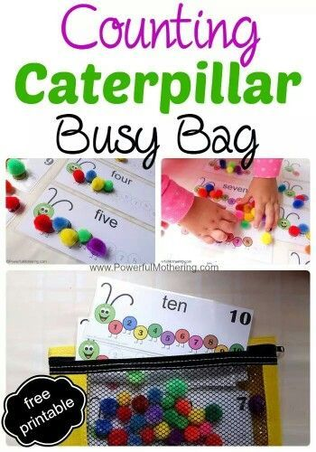 Counting busy bag printable