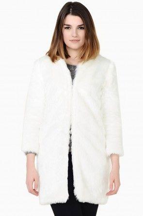 Maureen Fur Jacket in White