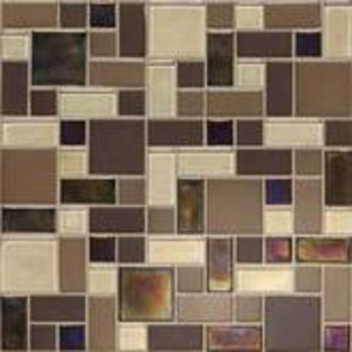Mohawk Coastal Keystones Block Random Mosaic Floor Or Wall Tile At Menards