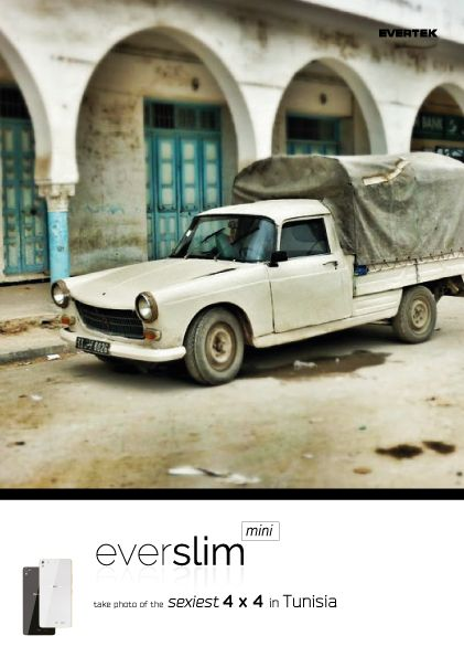 The sexiest 4 x 4 in Tunisia by EverSlim Mini