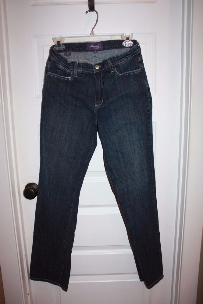 Women's NYDJ Lift Tuck Jeans Jean - Size 10 - EUC! #NotYourDaughtersJeans #BootCut