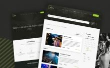 Build a successful events management website using Joomla event template. It brings you everything you need to launch a professional web page. #events #Joomla #template #management #calendar