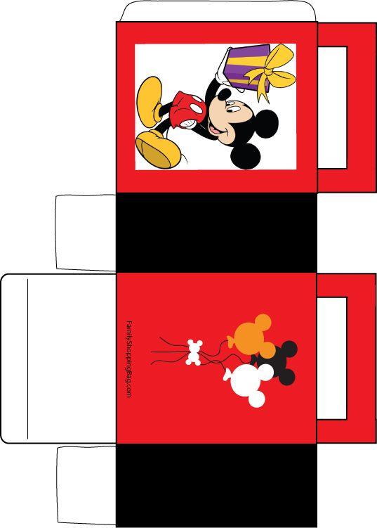Mickey and Gift Box Favor Box