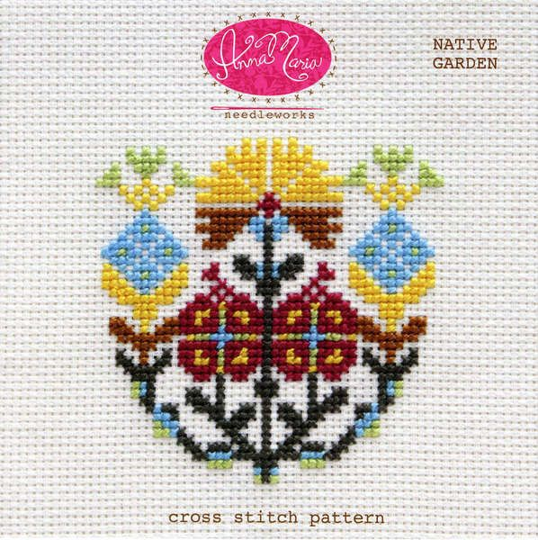 Let your garden grow! This cross stitch pattern includes both a color coded chart and a symbol coded chart. The pattern also includes helpful getting started tips for cross stitch as well as recommend