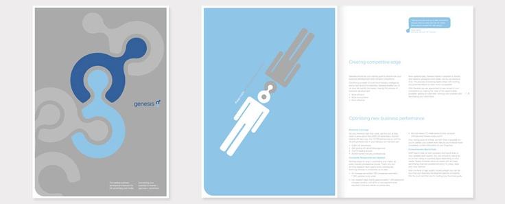 Genesis (Emap, UK) promotional book