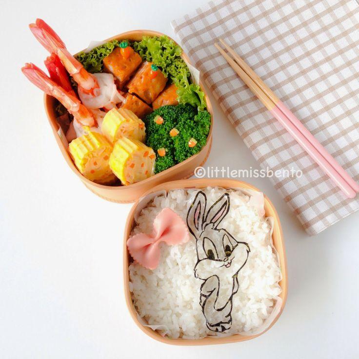 Little Miss Bento  シャリーのかわいいキャラベン: Bugs Bunny Bento バッグス・バニーのキャラ弁
