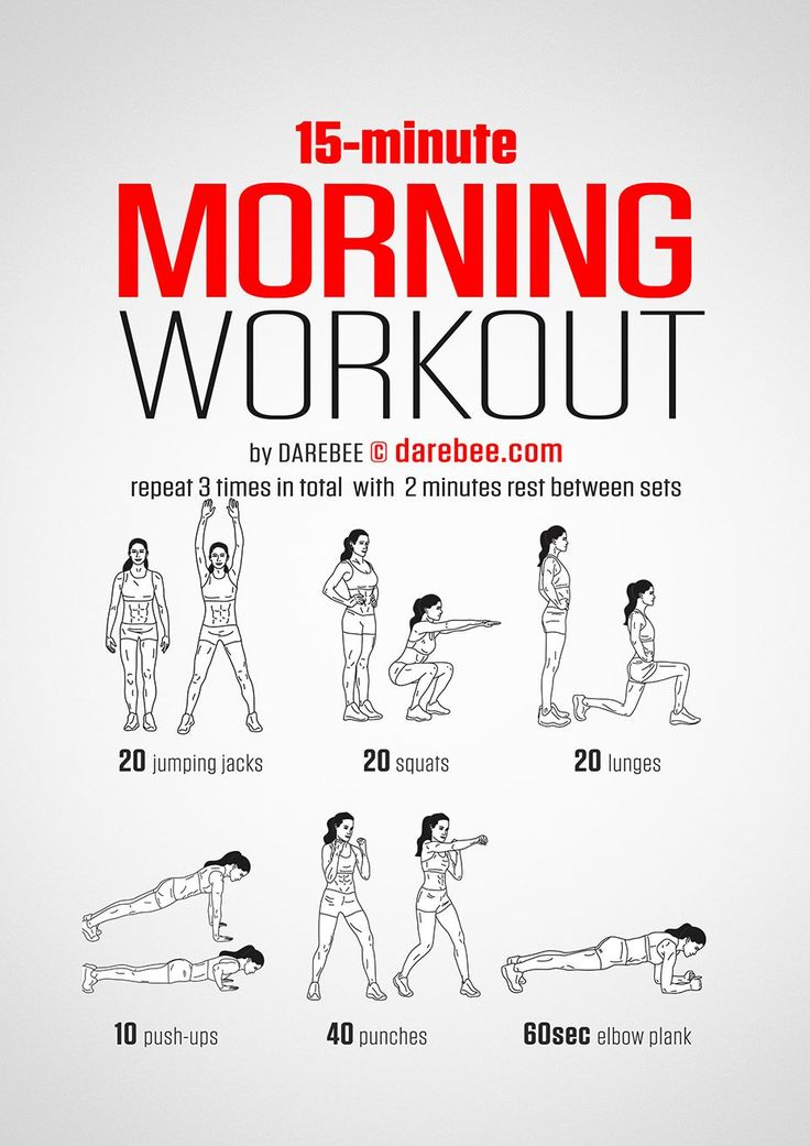 15-Minute Morning Workout #darebee #workout #fitness #morning http://amzn.to/2spju6T