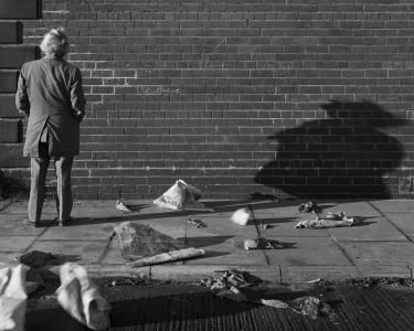 Chris Killip, True Love Wall, Gateshead, 1976