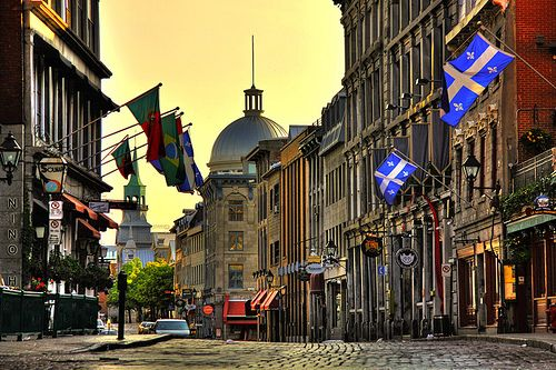 La Rue St-Paul in Old Montreal | Vieux Montreal