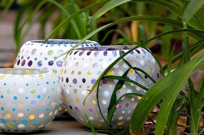 DIY Fishbowl Lanterns