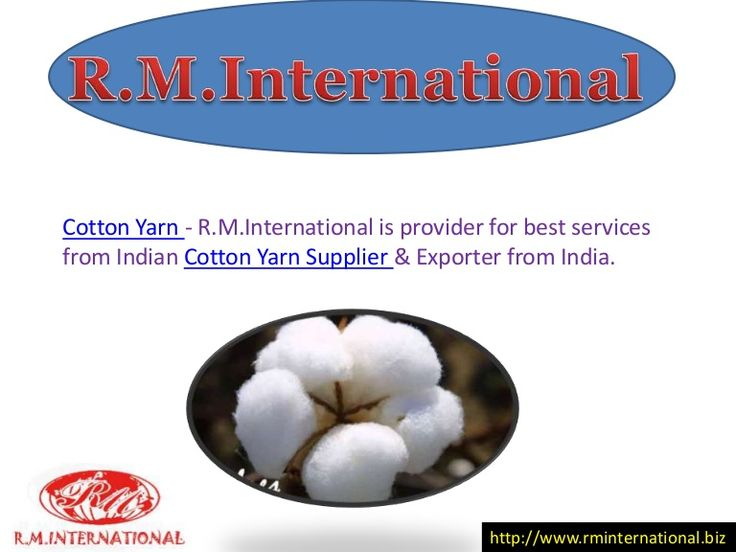 Cotton Yarn Exporter