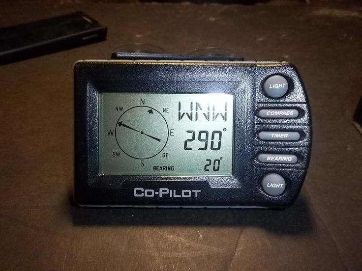 Co-Pilot Electronic Compass V1000 Precision Navigation #PrecisionNavigation