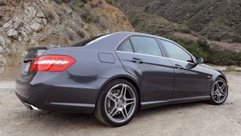 View detailed pictures that accompany our Review: 2010 Mercedes-Benz E63 AMG article with close-up photos of exterior and interior features. (77 photos)