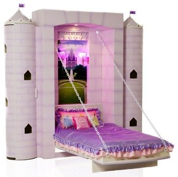 Unique Toddler Beds | Princess Castle Bed - contemporary - kids beds - vancouver - by Fable ...