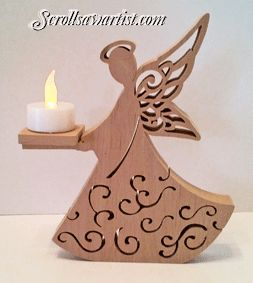 Scroll Saw Patterns :: Religious & Inspirational :: Angels -