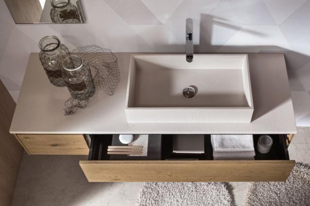 Lavabi Squadrati Per Il Bagno Minimal E Rigoroso Con Imagenes