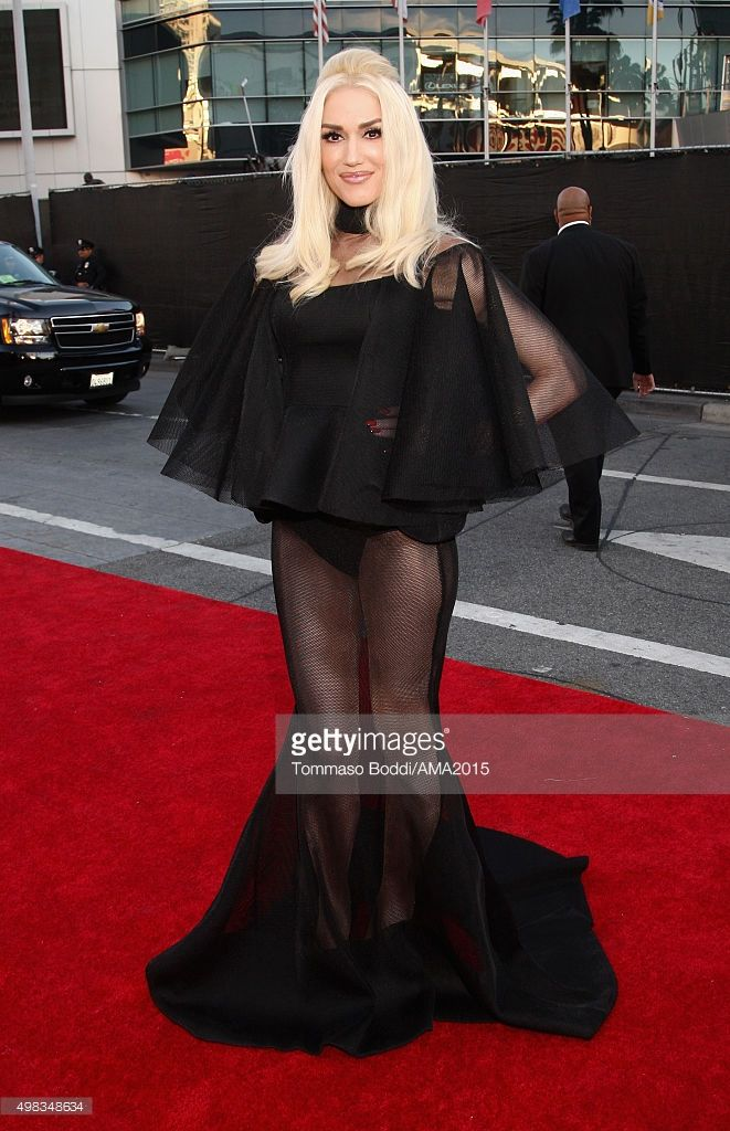 Gwen Stefani attends the 2015 American Music Awards at Microsoft Theater on November 22, 2015 in Los Angeles, California.  (Photo by Tommaso Boddi/AMA2015/Getty Images for dcp)