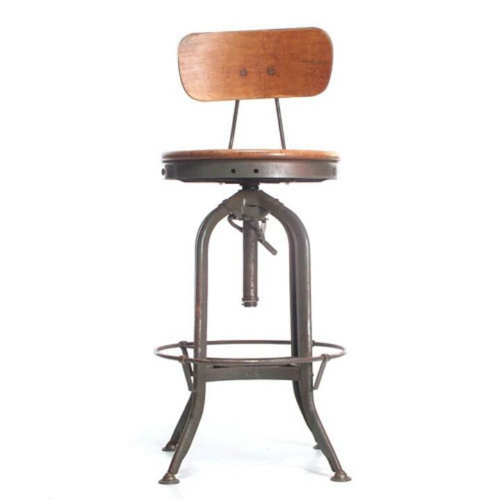 industrial stool (breakfast bar)