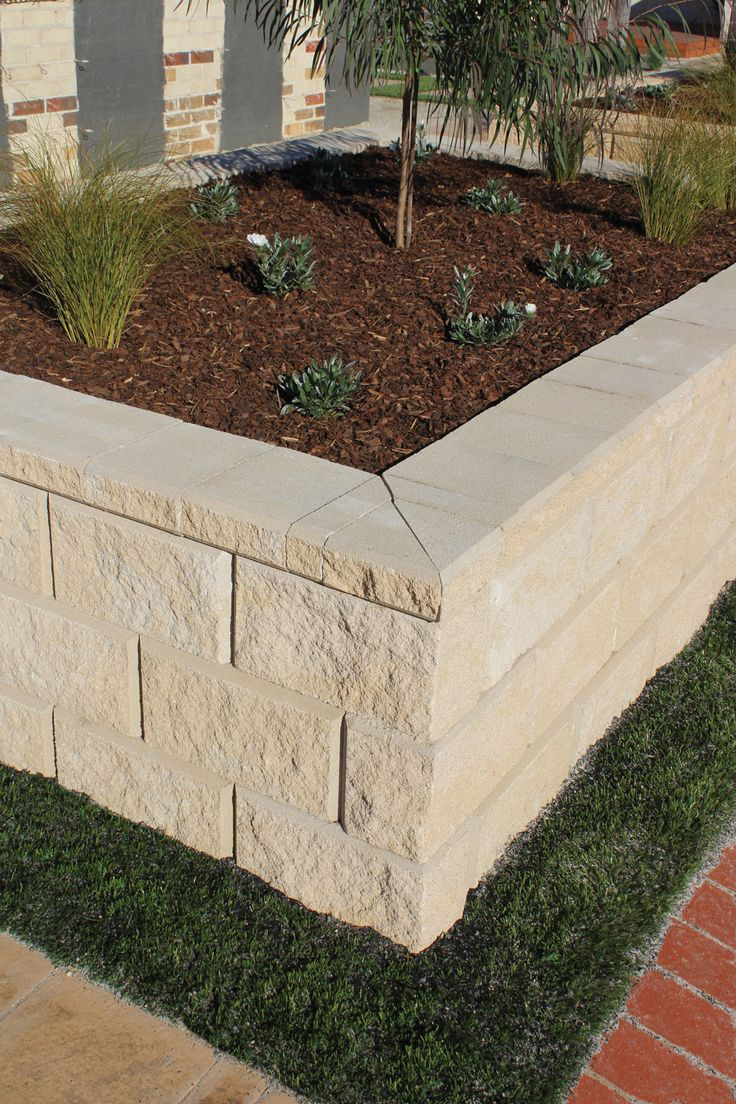 104 best retaining wall images on pinterest backyard for Raised garden wall ideas
