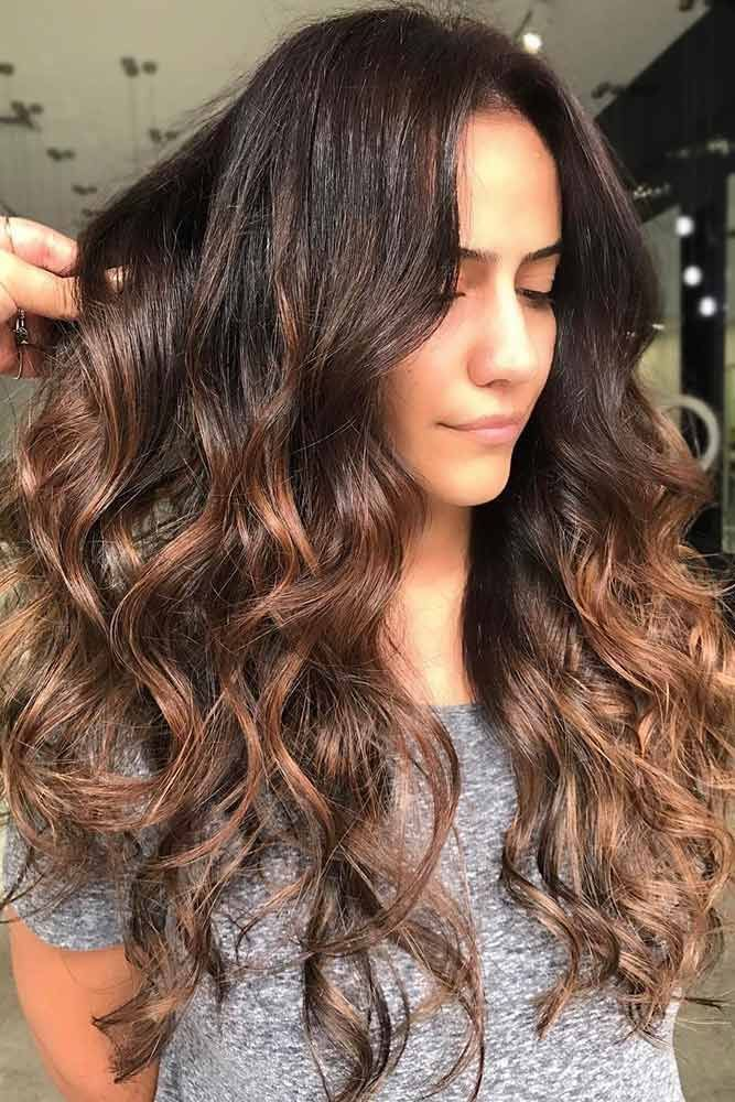 Hair Color 2017/ 2018 Eye-Catching Chestnut Brown Highlights ...