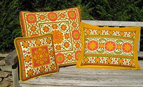 DOM during our Annual Sale November/December 2014 Suzani Pattern MOGHUL from the cross-pointTM kit collection